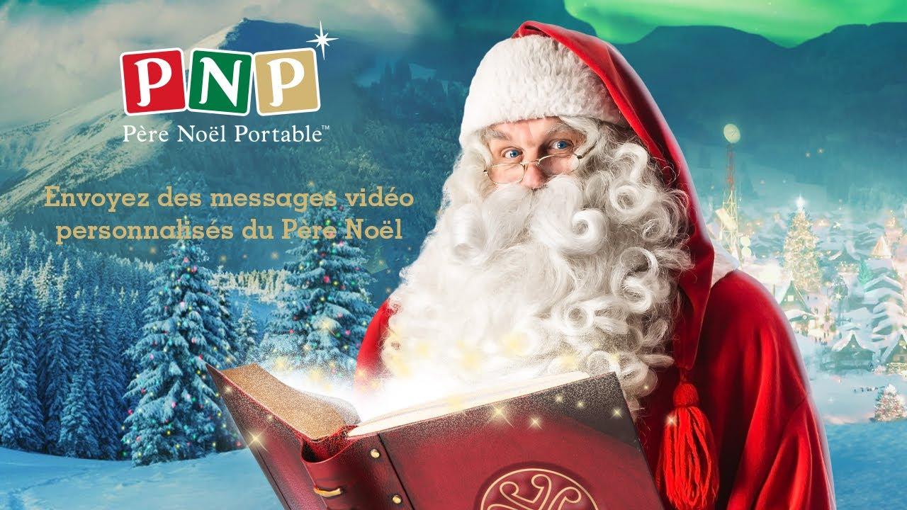 Téléchargez Votre Vidéo Du Père Noël Personnalisée Avec Pnp Tête à Modeler