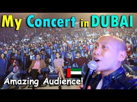 MY CONCERT IN DUBAI | April 29th, 2017 | Vlog #98