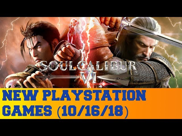 New PlayStation Games for October 16th 2018