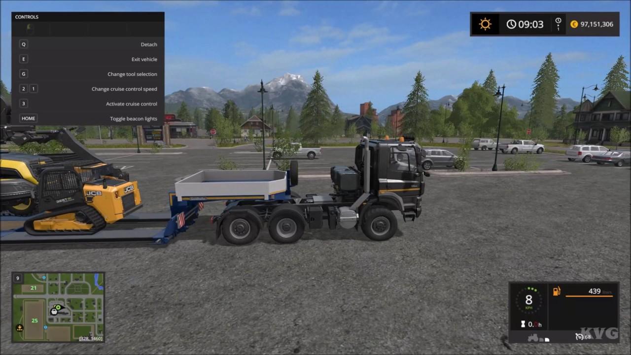 Farming Simulator 17 Transport Trailer Low Loader