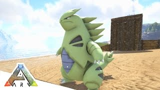 TYRANITAR IS A BEAST! - ARK SURVIVAL EVOLVED POKEMON MOD #7