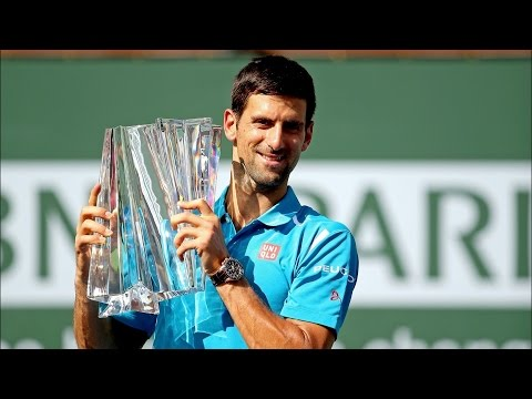 Indian Wells 2016 Final | Novak Djokovic Beats Milos Raonic In Final