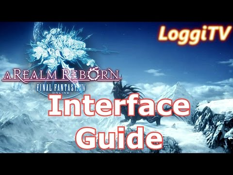 FF14 Online - HUD/Interface Guide [German/Deutsch