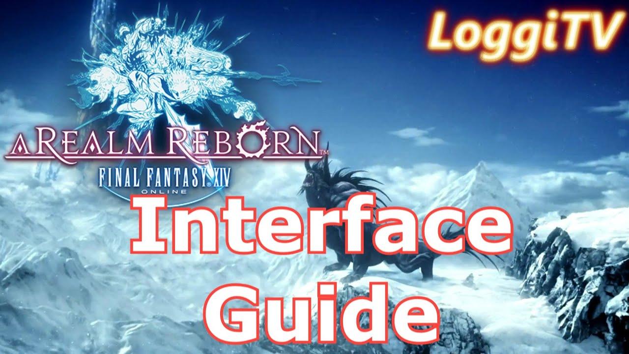 FF14 Online - HUD/Interface Guide [German/Deutsch