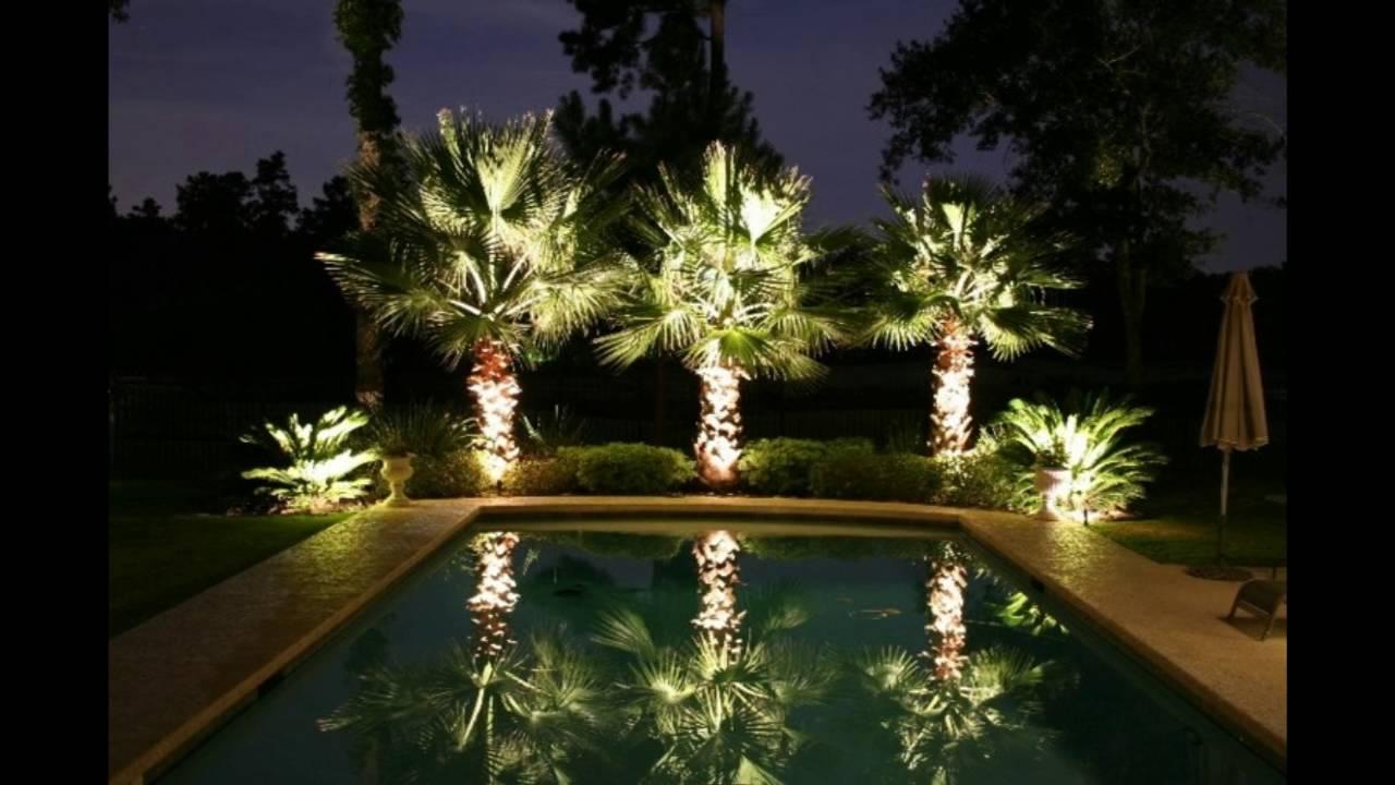Decoracion de jardines iluminacion exterior youtube for Iluminacion exterior jardin