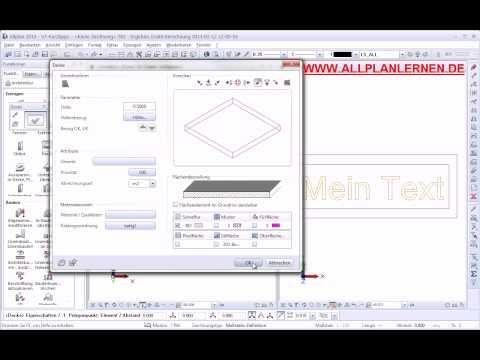 Allplan-Text 3D
