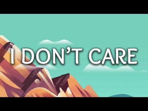 Ed Sheeran, Justin Bieber ‒ I Don't Care (Lyrics)