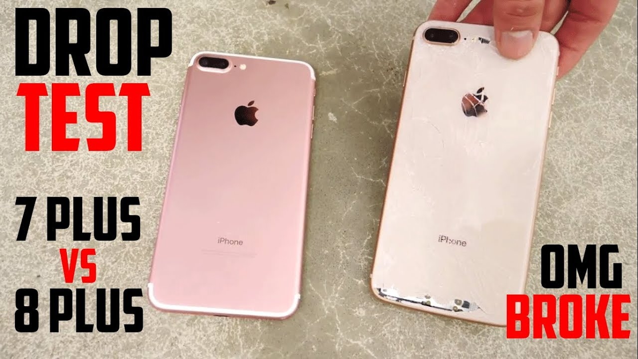 IPHONE 8 VS IPHONE 7 DROP TEST