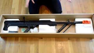 Snow Wolf M99 Sniper Rifle Unboxing (Barrett .50 Cal)