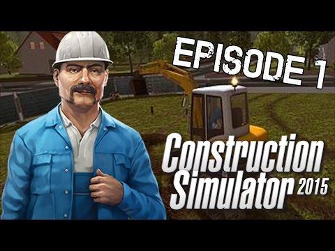 CONSTRUCTION SIMULATOR 2015 - DET FØRSTE JOB