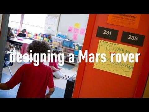 Designing a Mars rover: Highlander Charter School
