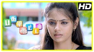 Pagadi Aattam Movie Scenes | Surendran tries contacting police | Rahman learns about Monica