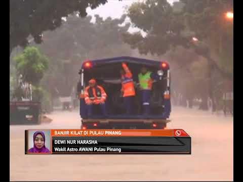 Perkembangan Banjir kilat di Pulau Pinang