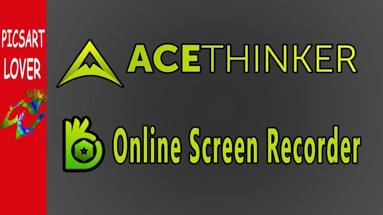 acethinker free screen recorder