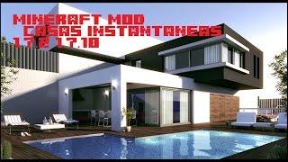 Casas instantaneas- MINECRAFT MOD 1.7.2 Y 1.7.10