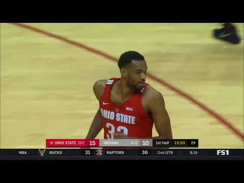 (NCAAM) #15 Ohio State Buckeyes at Indiana Hoosiers in 50 Minutes (2/23/18)