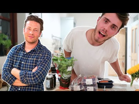 COOKING MY PARENTS DINNER WITH JAMIE OLIVER