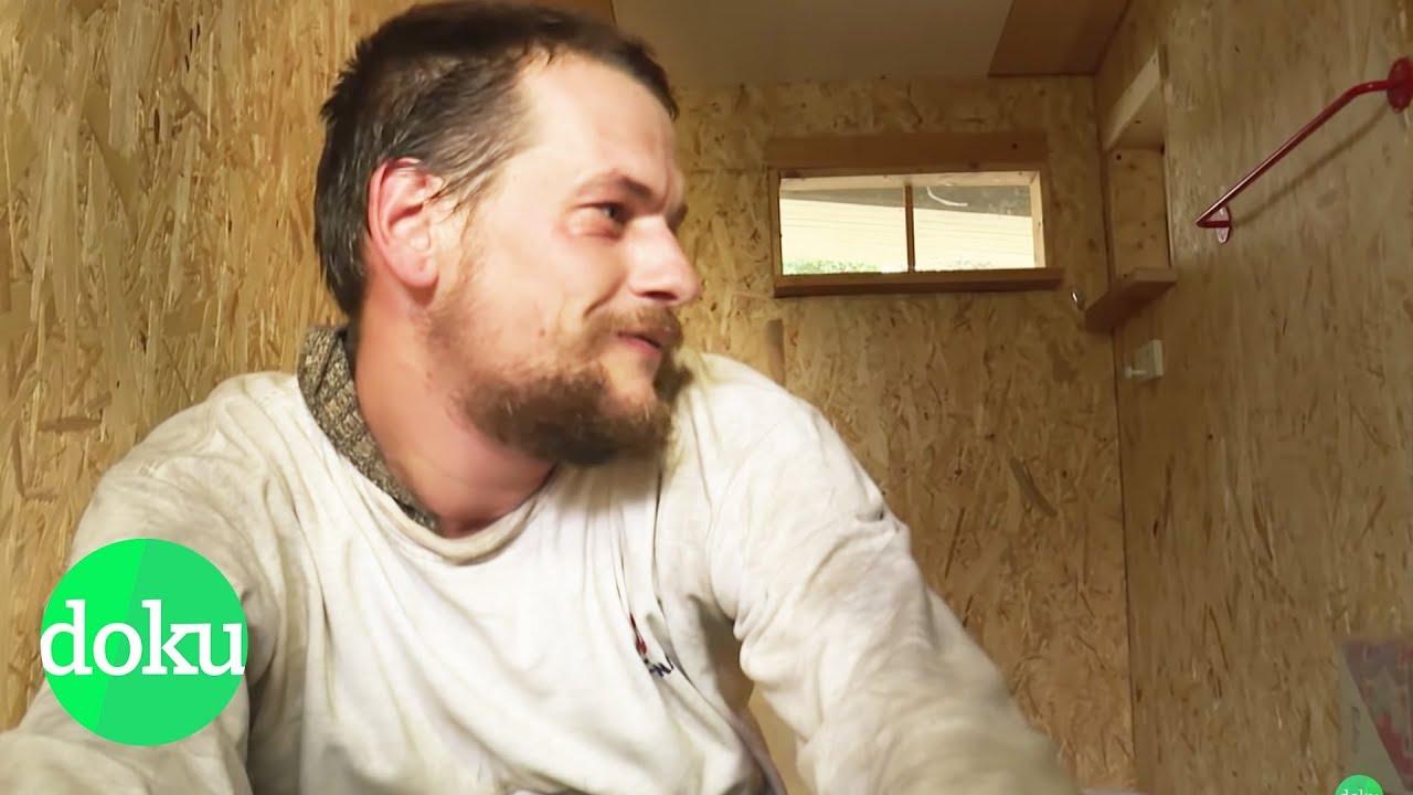 Leben auf 3,2 m2 - Mini-Häuser für Obdachlose