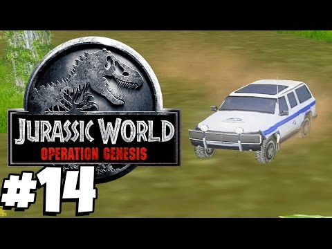 Jurassic Park: Operation Genesis   THE SAFARI ZONE (Playthrough Part 14)