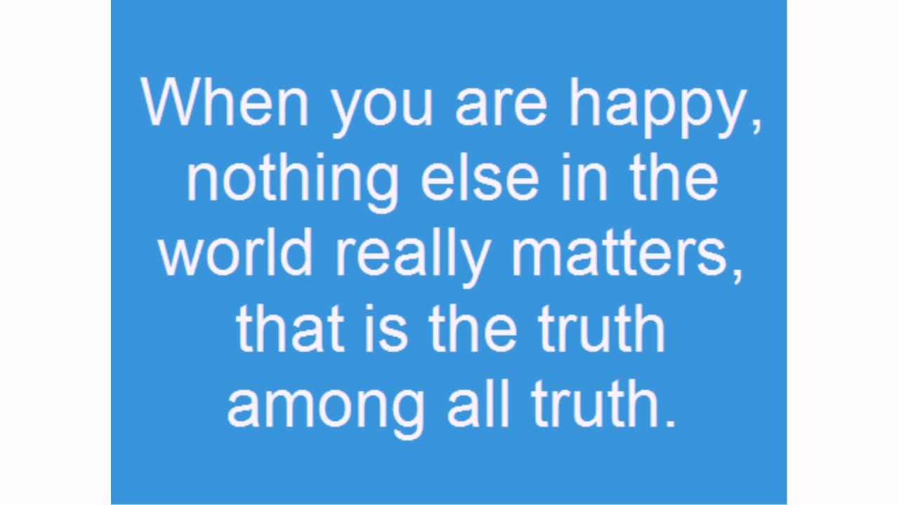 Feeling Happy Quotes Youtube