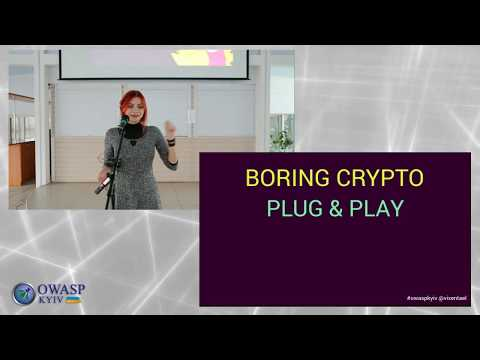 Anastasiia Vixentael - Don't Waste Time on Learning Cryptography: Better Use It Properly