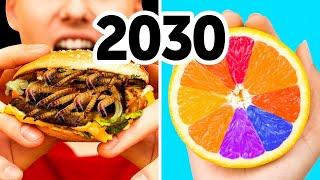 2030'da Yiyeceğimiz Şeyler: Solucanlar, Yapay Et, Erimeyen Dondurma