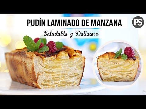 PUDÍN DE MANZANA | SALUDABLE Y FÁCIL | SOLO 5 INGREGREDIENTES