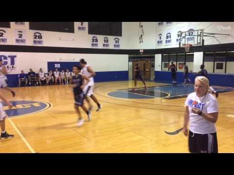 Eric Amândio (Junior PG Impact Basketball) Highlights VOL 2