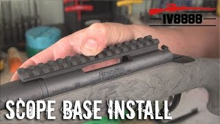 How to Install a Rifle Scope Base