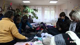 Operation Orphan Keep a Child Warm Moldova 2014