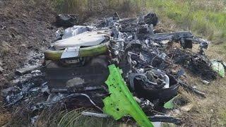 Lamborghini Huracan wypadek przy 315 km/h masakra!