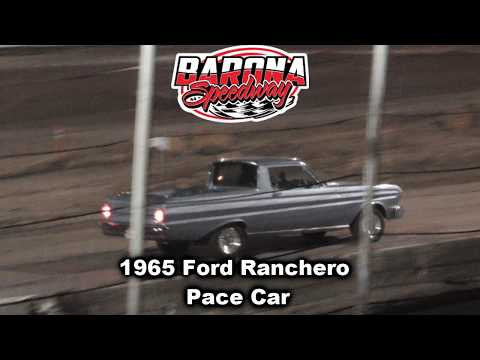 1965 Ford Ranchero pace car barona speedway 11-16-2019