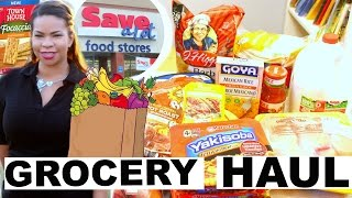 HOW FAR WILL $50 GO AT SAVE A LOT | GROCERY HAUL | Sensational Finds