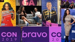 Pt 1 Fun Shade: Bravo Con Panel Ft. Stunning Kenya Moore Porsha Williams Cynthia Bailey & Eva...