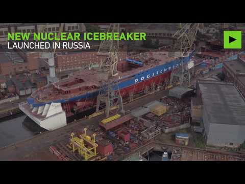 Meet 'Siberia': Russia launches 'world's biggest & most powerful' nuclear icebreaker