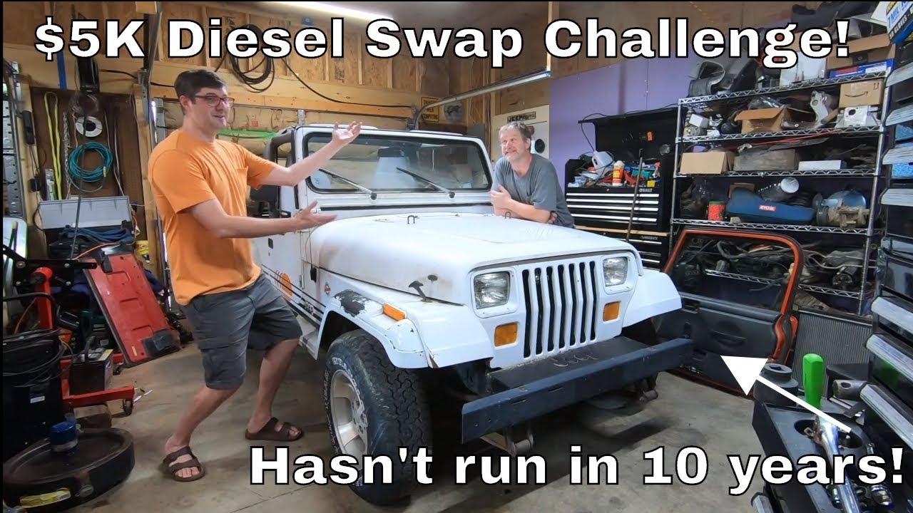 project moku 5k kubota diesel budget build 1990 yj wrangler islander jeep wrangler tj forum [ 1280 x 720 Pixel ]