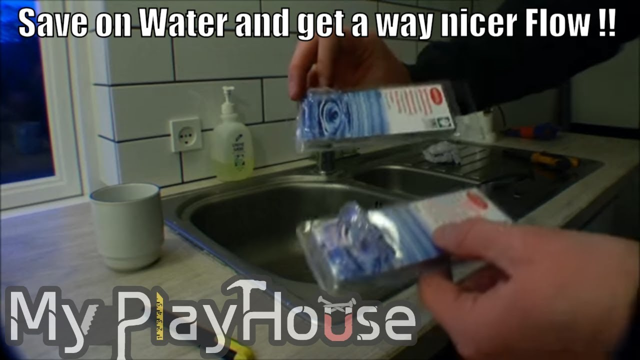 Arrive at playhouse, replacing low flow faucet aerator - 013 - YouTube