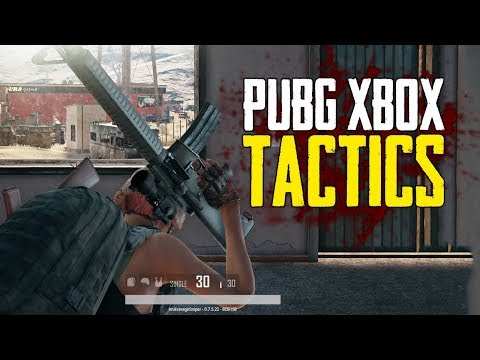 Tactics I Use On PUBG Xbox (Playerunknown's Battlegrounds)