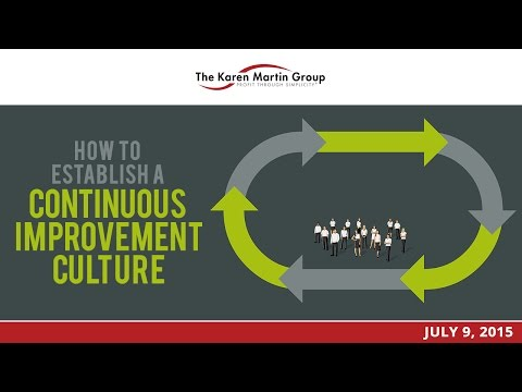 How to Truly Establish a Continuous Improvement Culture with Guest Joakim Ahlstrom