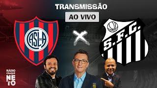 San Lorenzo (ARG)  x Santos | AO VIVO | Copa Libertadores 2021 | Rádio Craque Neto