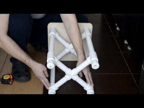 Мебель из пропиленовых труб своими руками