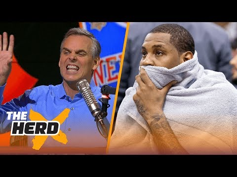 Colin Cowherd reacts to Carmelo Anthony joining  Westbrook's Oklahoma City Thunder | THE HERD