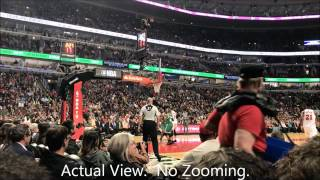 4 Sale Chicago Bulls tickets all games on main floor