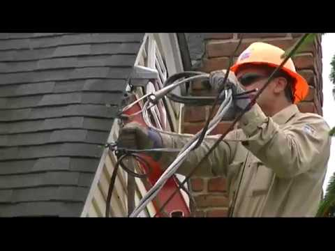 New Electrical Service For The House! - YouTube