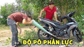 Thanh Niên Bỏ 250k Độ Pô Cho Winner 62zz Thành Máy Bay Phản Lực