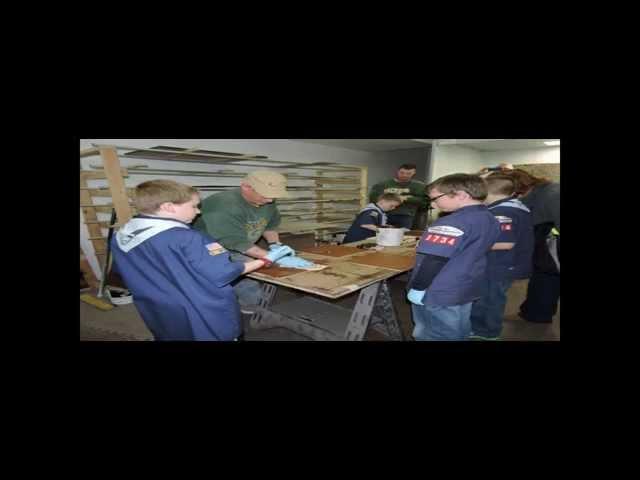 Scouts visit JG