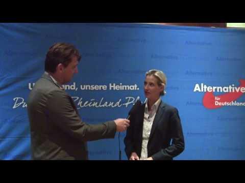 Gerolstein Wahlkampfstart mit Dr  Alice Weidel