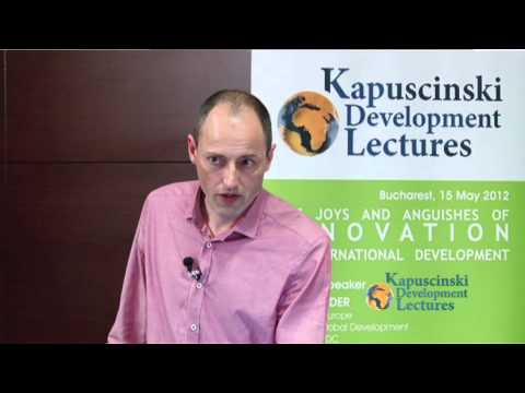 Owen Barder on complexity and innovation at Kapuscinski development lecture (shortcut)