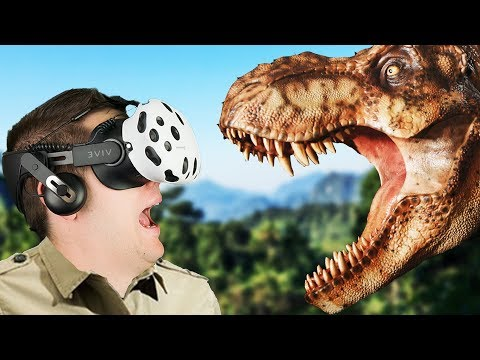 Virtual Reality Dinosaur Adventure! - Island 359 Gameplay - VR HTC Vive
