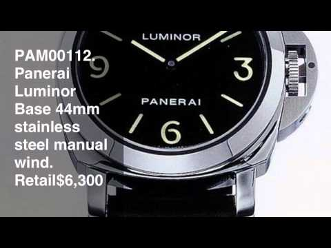 What To Buy For Your First Panerai Watch